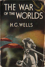 The War of the Worlds by H.G. Wells - this edition published 1958 by Heinemann